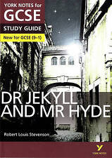 Dr Jekyll and Mr Hyde: York Notes for GCSE (9-1) by Anne Rooney, John Scicluna (Paperback, 2015)