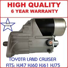 Starter Motor for Toyota Landcruiser HJ60 Engine 2H 4.0L Diesel 1980-1990