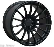 "XXR 550 18"" x 8.75 ET19 5x100 5x114.3 FLAT BLACK ALLOYS RIMS ALLOY WHEELS Z2895"