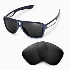 New Walleva Polarized Black Replacement Lenses For Oakley Dispatch II Sunglasses