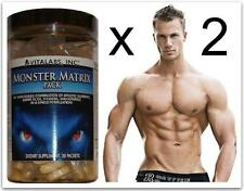 MASSA muscolare Matrix x Stack Pillole Bodybuilding Crescita guadagni 6 Six Pack abstablets
