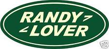 2x Randy Lover Pegatina Land Rover Defender Serie 1 2 3