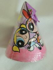 New ~Powerpuff Girls~ 8- Paper Party Hats Party Supplies