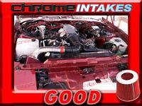 BLACK 1990-1992 PONTIAC FIREBIRD GTA TRANS AM 5.0L 5.7L AIR INTAKE KIT