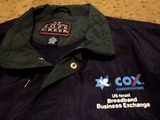 Cox Communications US-Israel Broadcast Business Exchange Jacket for over shirt L