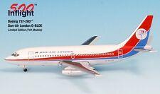 Dan Air London G-BLDE 737-200 Airplane Miniature Model Metal Die-Cast 1:500 Part