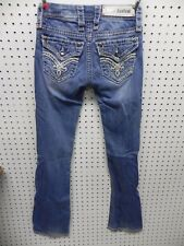 "ROCK REVIVAL JEANS   TAG SIZE 23  ""JILL ""   #258"
