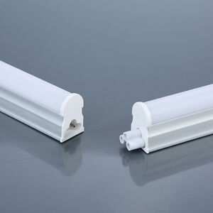 T5 LED INTEGRATED TUBE 300MM 600MM COOL WHITE WARM WHITE LIGHT POWER LINK CORD