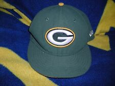 """NFL, Green Bay Packers, embrodiered logo hat, size 6 3/4"""" fitted, New Era, excel"""