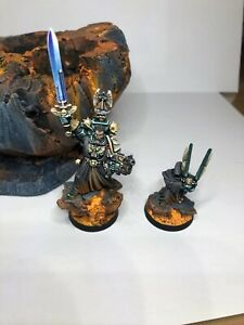 Dark Angels Chapter Master Azrael Pro Painted /Diorama Playable 40k