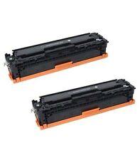 NON-OEM 2 PK BLACK TONER CARTRIDGE HP CB540A LASERJET CP1215 CP1512 CP1515NI