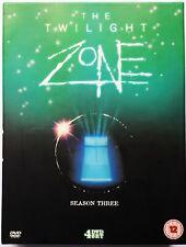 The Twilight Zone (1988) - Complete Season Three - Region 2 DVD - 4 Disc Set