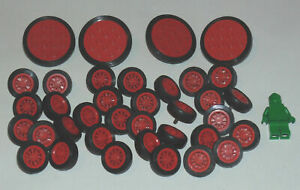 LEGO Vintage Wheels Train Space Vehicles Assorted Various Colours Bundles Lots