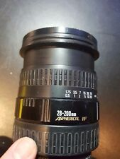 Sigma 28-200mm f1: 3.5-5.6 Aspherical IF Lens for Pentax Z & ZX SLR Camera S&R