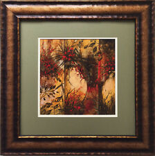 """Guido Borelli """"Anfore Di Terra"""" Newly CUSTOM FRAMED Hand Signed Lithograph ITALY"""