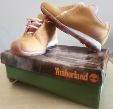 TIMBERLAND 19381 METRO SLIM WOMENS SNEAKERS SIZE 9.9 BROWN/PINK