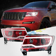 1pair For2011-2013 Jeep Grand Cherokee/Compass Headlight with Bi-xenon Projector