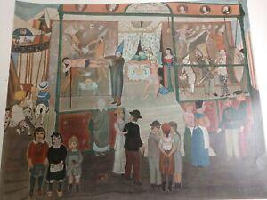 La Baraque by Edgard Tytgat Poster 1879-1957 Magician Side Show Art Print