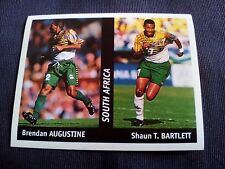 Figurina Ds Sticker France 98 n°143 AUGUSTINE-BARTLETT SOUTH AFRICA World Cup
