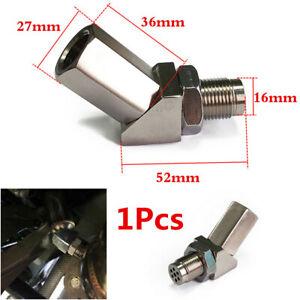 45° O2 Sensor Spacer Car Engine Light Check Bung Catalytic Converter Kit M18*1.5