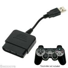 Hot Cable Converter For PS2 Controller to PS3 PC USB Adapter Converter Cable OZ