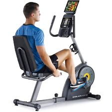 Golds Gym Exercise Bike Cycle Stationary Trainer Fitness Indoor Cardio Cycling