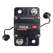Disgiuntore Dual Batteria Sistema Barca Frigo 100 Amp 12V 24 Volt Fusibile Reset