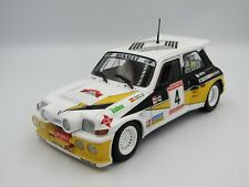 1:18 SOLIDO - RENAULT Maxi 5 Turbo N 4 2nd Rally de Asturias 1986 C.Sainz A.Boto