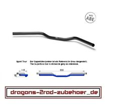 "LSL 22mm Motorrad Lenker ALU AS1 CLUBMAN SCHWARZ handlebar black 7/8"""