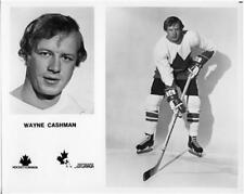 Wayne Cashman team Canada 1972 8x10 Photo