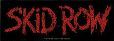 """Skid Row Logo - Sticker 2.5"""" x 7"""""""