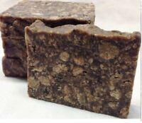 100% Raw Unrefined Organic African Black Soap from Ghana 4 8 10 oz