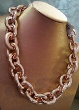 ������New Choker Mimco Rose Gold Missing Link Necklace + Dust Bag