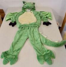 Green Dragon Plush Halloween Costume Toddler 2-3T  Celebration Creations