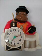 Vintage Rhythm Gorilla Drum Alarm Clock Japan