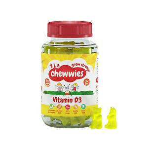 Vitamin D - Chewable Vegan Vegetarian Gummies- Vegan, Halal, Sugar & Gluten Free