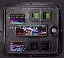 STAR TREK NEXT GENERATION PINBALL COIN DOOR DECAL 3 PIECE SET
