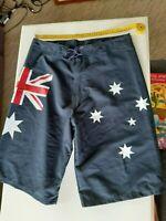 Australian Made Athletics Sprinter Mens Salmon Pink Polyester Booty Shorts
