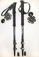 ALU BACKCOUNTRY SKI POLES TREKING POLES PAIR**BRAND NEW**