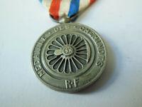 Médaille CHEMINOT  1942 Guerre 1939-45 Collection argenté chemin de fer