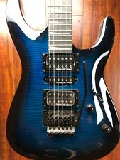 Wolf KSL 2018 Ocean Blue Burst Electric Guitar