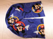 Mickey Mouse on Royal Blue Fleece Scarf
