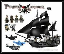 Pirates Of The Caribbean - THE BLACK PEARL SHIP - BATTLE SET - fit lego