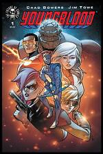 YOUNGBLOOD #1 (OF 5) SET OF 6 COVERS A, B, C, D, E & AOD COLLECTABLES IMAGE 2017