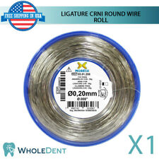 Orthodontic Dental Crni Ligature Round Wire Roll Stainless Steel 20mm 008