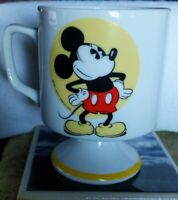 Vintage Walt Disney Productions Japan Mickey Mouse Pedestal Mug Cup