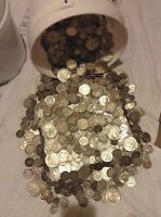 ✯ESTATE SALE LOT OLD US COINS HOARD ✯ GOLD SILVER 90% BULLION ✯ HALF POUND LB ✯