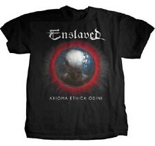 ENSLAVED - Axioma Ethica Odini T-shirt - Size Small S - NEW - Black Metal