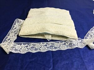 """33 yards cream vintage French Alencon lace 1 3/4"""" Heirloom sewing"""