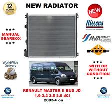 Per RENAULT MASTER II BUS JD 1.9 2.2 2.5 3.0 DCI 2003 - > NUOVO RADIATORE OE Quality